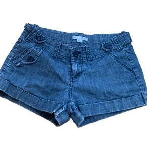 Forever 21 denim Bermuda jean shorts